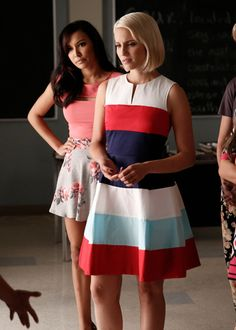 """Santana and Quinn in """"Jagged Little Tapestry"""""""