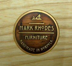Makers Marks of Norfolk Furniture Maker- Mark Rhodes.