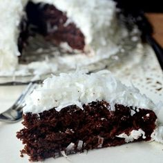 Chocolate Coconut Cake sub honey and almond/coconut flour, and coconut oil for vegetable oil