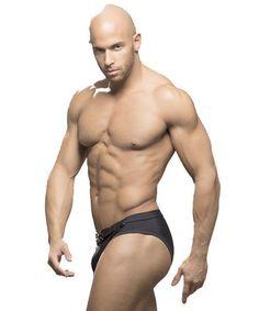 Gay Mens Swimwear Sexy Men Briefs Swimwear Beach Underwear Mens Swimming Bikini Shorts Rouge Men Swimsuit -- Free Shipping