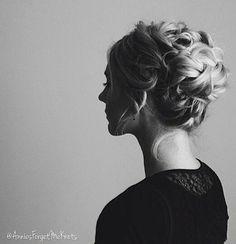 @annieforgetmeknots Elegant Updo, Prom Hair, Updos, My Hair, Braids, Hairstyles, Instagram Posts, Inspiration, Fashion