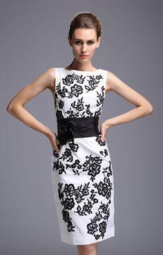 Zapatillas para vestido blanco con negro