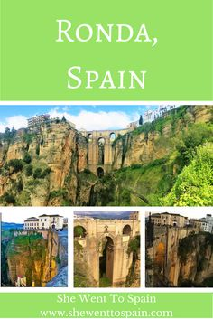 Ronda is famous for its dramatic mountaintop views. It has managed to maintain much of its historic charm even as more and more tourists flood each year.