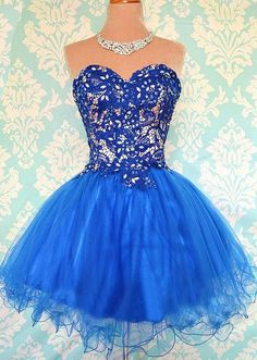 Sweetheart Appliques Short Prom Dresses,Charming Homecoming Dresses,Homecoming Dresses,HC14