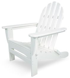 Looking for Trex Outdoor Furniture Cape Cod Folding Adirondack Chair, Classic White ? Check out our picks for the Trex Outdoor Furniture Cape Cod Folding Adirondack Chair, Classic White from the popular stores - all in one. Polywood Outdoor Furniture, Polywood Adirondack Chairs, Plastic Adirondack Chairs, Adirondack Furniture, Patio Seating, Patio Chairs, Cool Chairs, Outdoor Chairs, Outdoor Spaces