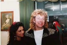 Robert Plant and Shirley Wilson--his ex-wife Maureen's sister who Robert dated first before he married Maureen. After he and Maureen divorced, Robert began a relationship again with Shirley and they had one child together, a son: Jesse Plant. They never married.