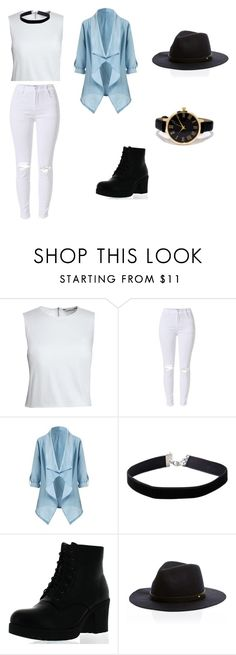 """""""modern oldie"""" by dopeboss ❤ liked on Polyvore featuring Canvas by Lands' End, Miss Selfridge, Refresh, LULUS, modern and slay"""