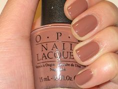 OPI Canadian Collection- Chocolate Moose/ Neutral Year-round Shade