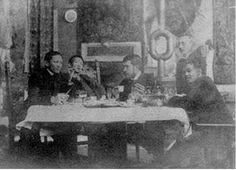 Taken in Paris: Jose Rizal, Felix Resurreccion Hidalgo, Trinidad H. Pardo de Tavera and Juan Luna