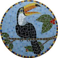 https://flic.kr/p/q3EBxY | Tucano -2010 #artchallenge  #estudiojoeromio #mosaic  #mosaicart