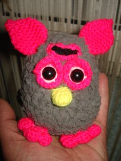 baby furby crochet