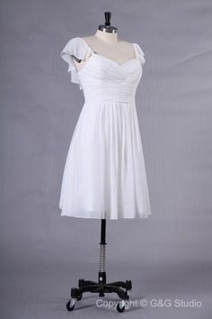 A-line Short/mini Zipper Sweetheart Natural Bridesmaid Dresses