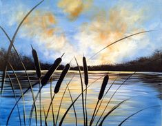Minnesota Lake Sunset | http://creativelyuncorked.com