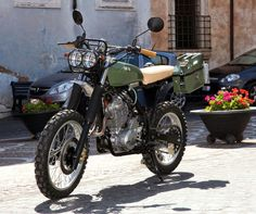 Desmoone's Pistola - The Bike Shed Moto Scrambler, Scrambler Custom, Honda Motorcycles, Vintage Motorcycles, Custom Motorcycles, Custom Bikes, Custom Choppers, Honda Dominator, Tracker Motorcycle
