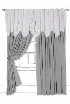 Pheasant Eye Curtain - Anthropologie.com