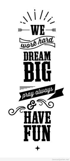 Motivation dream big quotes