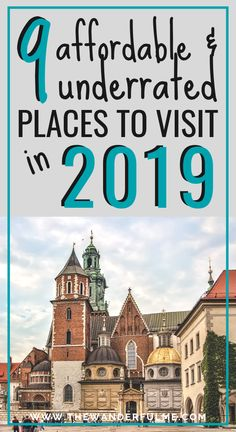 9 Affordable & Underrated Places to Visit in 2019 Bucket Lists / Cheap Destinations / Budget Travel / Affordable Vacations / Cheap Travel / Budget Tips / Cheap Travel Ideas / Saving Money / Budget Destinations Us Travel Destinations, Places To Travel, Places To Visit, Cheap Travel, Budget Travel, Bucket Lists, Travel With Kids, Family Travel, Travel Advice
