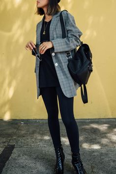 How To Style Leggings For Back to School | Song of Style