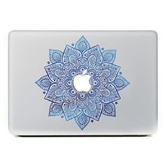 """iCasso Leaves Removable Vinyl Decal Sticker Skin for Apple Macbook Pro Air Mac 13"""" inch / Unibody 13 Inch Laptop (Blue) iCasso http://www.amazon.com/dp/B00VJGLEGS/ref=cm_sw_r_pi_dp_6Ifawb0Y1MRE8"""