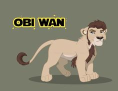 The Jedi King - Young Obi Wan Kenobi by RussianBlues on DeviantArt Lion King 1, Lion King Fan Art, Disney Lion King, The Lion King Characters, Star Wars Characters, Lion King Drawings, Lion Drawing, Lion King Pictures, Le Roi Lion