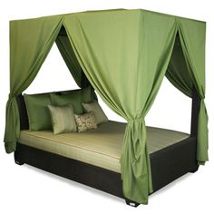 Design Ideen Himmelbetten Grün Baldachin Schlafzimmer Mehr