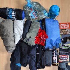 Most people overpack when they walk The Camino. Don't be one of those  people. Pack light. Pack smart. Walk easy.