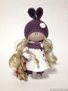Зайка / Авторские куклы (ООАК) / Шопик. Продать купить куклу / Бэйбики. Куклы фото. Одежда для кукол