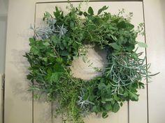 my herb wreath...