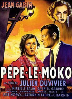 """""""Pépé le Moko"""" (France) - a film by Julien Duvivier."""