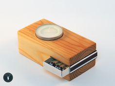 6 Simple Gifts You Can Make From Wood Picture of MatchBox Candle Holder