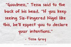 The infernal devices | quotes | Tessa Gray