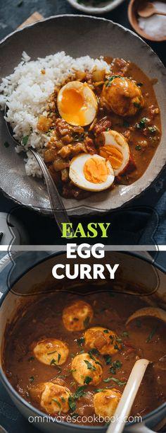Easy Egg Curry | Omnivore's Cookbook