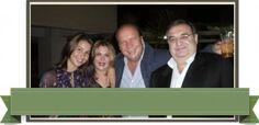 En la foto Juan Garanton conocido abogado penalista, Augusto Navarro y su esposa Maria Cristina Puig de Navarro NOSTALGICAS | sinposetovar