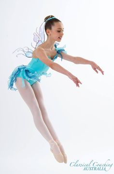 Tutu. Ballet. Water Nymph. Costume and wings Made by Helen Shawsmith for classical coaching Australia. Helss.