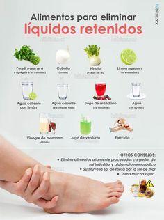 como eliminar liquidos retenidos durante el embarazo