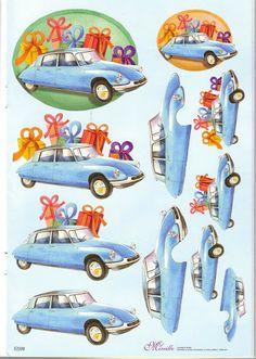 3d vehicules
