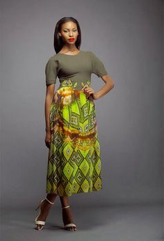 African Prints in Fashion: Colour Storm by Lanre Da Silva Ajayi