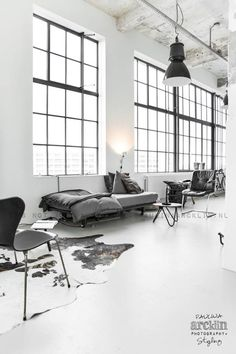Most Simple Tricks Can Change Your Life: Industrial Loft Sofa industrial house garage.Industrial Stairs Bookshelves industrial home singapore. Industrial Chic Decor, Industrial Style Kitchen, Industrial Interior Design, Industrial Living, Industrial Interiors, Industrial House, Home Interior, Interior Architecture, Industrial Bedroom