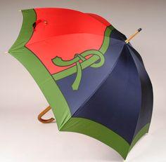 Roberta di Camerino, ombrello modello 'treccia', 1975-1976