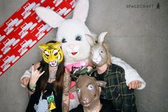 Spacecraft Collective || That one time at Zumies HQ. Buncha animals.