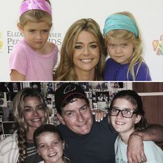 Charlie Sheen and Ex-Wife Denise Richards Pose With Daughters Sam and Lola — See How Grown Up They've Gotten!