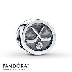 Pandora Hockey Puck Charm