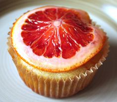 Blood Orange Muffin with Candied Blood Orange Slice by 52 Kitchen Adventures, via Flickr