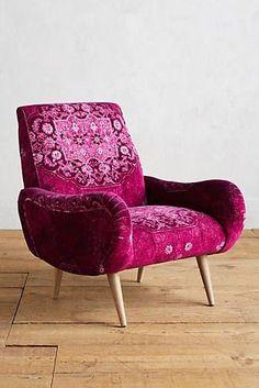 Rug-Printed Losange Chair
