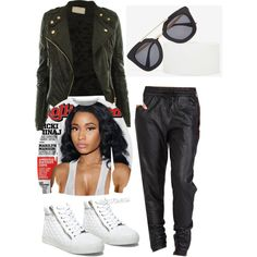 Street Style by Deranged Diva. A fashion look from February 2015 featuring Nicki Minaj tops, MINKPINK pants and Steve Madden sneakers. Browse and shop related looks.