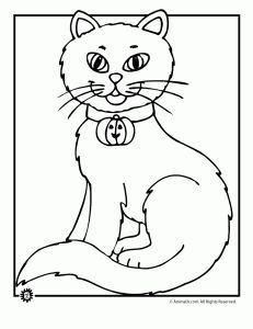 9 Heart tastic Crafts for Kids Cat outline Simple shapes and