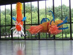 Balloon Sculputures - amazing balloon art