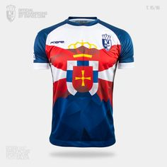 Camiseta oficial S. D. PONFERRADINA, pretemporada 2015/16, Liga Adelante. Sd, Sports, Tops, Fashion, T Shirts, Hs Sports, Moda, Fashion Styles, Sport