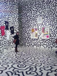 eyes of sam: Keith Haring, Pop up shop, Tate Modern