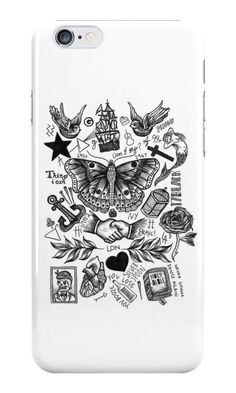 Our Harry Style's Tattoos Phone Case is available online now for just £5.99.    Fan of Harry Styles? You'll love our Harry Style's Tattoos phone case, available for iPhone, iPod & Samsung models.    Material: Plastic, Production Method: Printed, Authenticity: Unofficial, Weight: 28g, Thickness: 12mm, Colour Sides: White, Compatible With: iPhone 4/4s | iPhone 5/5s/SE | iPhone 5c | iPhone 6/6s | iPhone 7 | iPod 4th/5th Generation | Galaxy S4 | Galaxy S5 | Galaxy S6 | Galaxy S6 Edge | Galaxy S7